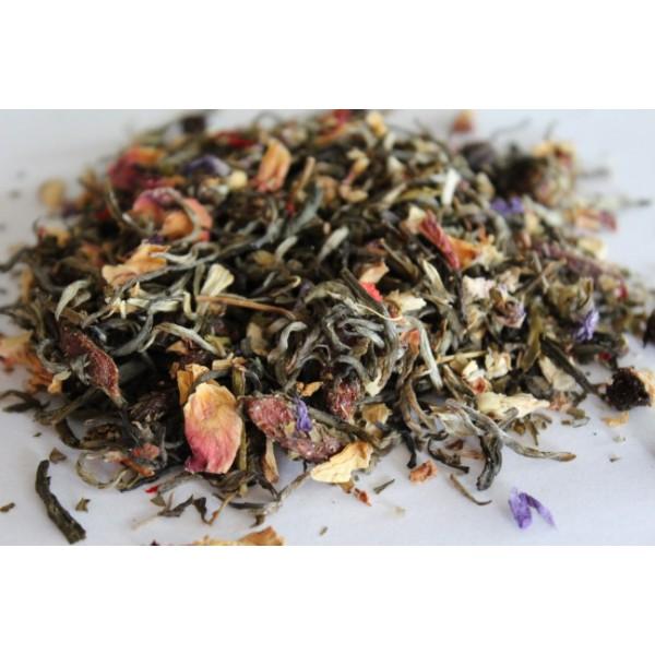 Biała Herbata Kwiat Granatu