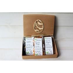 Herbata w prostokątnym pudełku - 3 herbaty wielkanoc