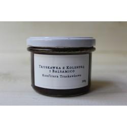 Konfitura truskawkowa - Truskawka z kolendrą i balsamico